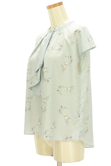KATHARINE ROSS(キャサリンロス)の古着「フリルタイ華やかブラウス(カットソー・プルオーバー)」大画像3へ