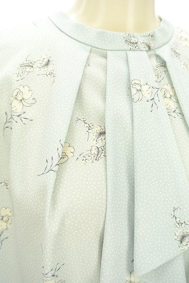 KATHARINE ROSS(キャサリンロス)の古着「フリルタイ華やかブラウス(カットソー・プルオーバー)」大画像4へ