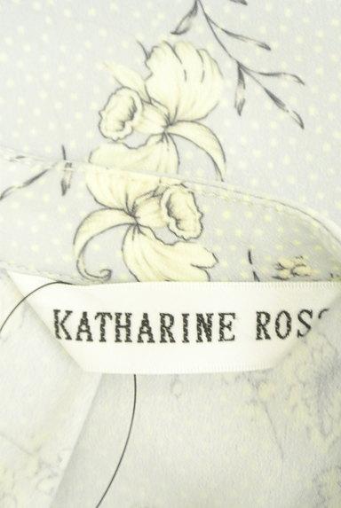 KATHARINE ROSS(キャサリンロス)の古着「フリルタイ華やかブラウス(カットソー・プルオーバー)」大画像6へ