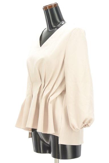 KATHARINE ROSS(キャサリンロス)の古着「タックペプラムカットソー(カットソー・プルオーバー)」大画像3へ