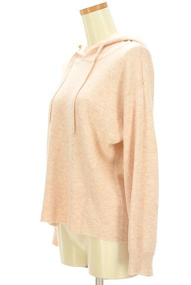 KATHARINE ROSS(キャサリンロス)の古着「やわらかニットフーディ(スウェット・パーカー)」大画像3へ