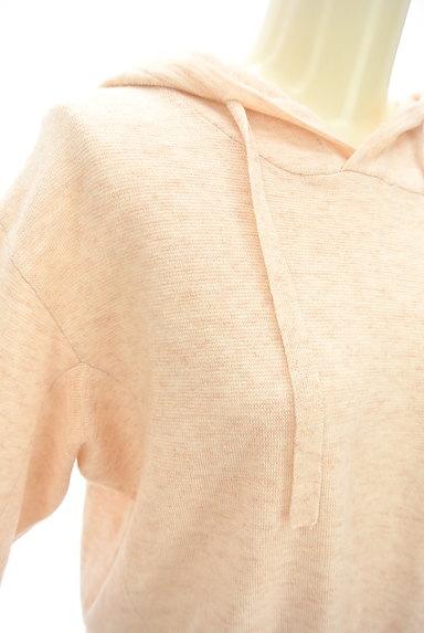 KATHARINE ROSS(キャサリンロス)の古着「やわらかニットフーディ(スウェット・パーカー)」大画像4へ