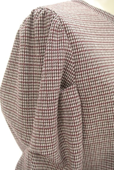 KATHARINE ROSS(キャサリンロス)の古着「袖コンシャスな千鳥カットソー(カットソー・プルオーバー)」大画像4へ