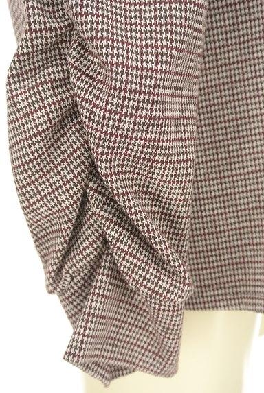 KATHARINE ROSS(キャサリンロス)の古着「袖コンシャスな千鳥カットソー(カットソー・プルオーバー)」大画像5へ