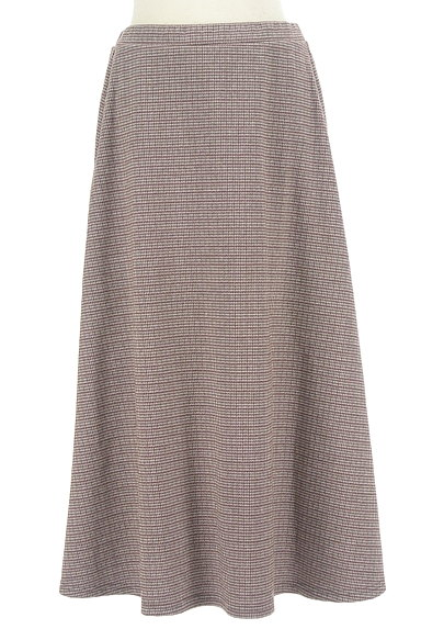 KATHARINE ROSS(キャサリンロス)の古着「千鳥チェックのロングスカート(ロングスカート・マキシスカート)」大画像1へ