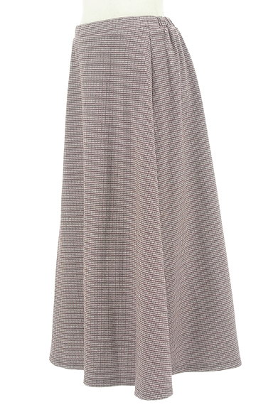 KATHARINE ROSS(キャサリンロス)の古着「千鳥チェックのロングスカート(ロングスカート・マキシスカート)」大画像3へ