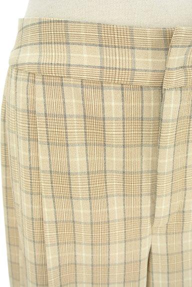 KATHARINE ROSS(キャサリンロス)の古着「チェック柄プリーツワイドパンツ(パンツ)」大画像4へ