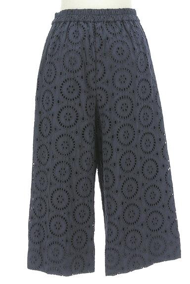 KATHARINE ROSS(キャサリンロス)の古着「カットワーク刺繍のセミワイドパンツ(パンツ)」大画像2へ