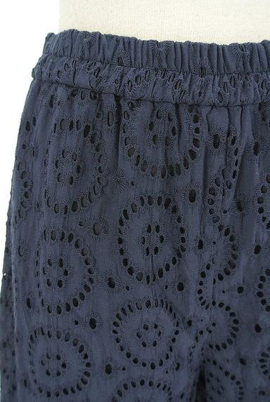 KATHARINE ROSS(キャサリンロス)の古着「カットワーク刺繍のセミワイドパンツ(パンツ)」大画像4へ