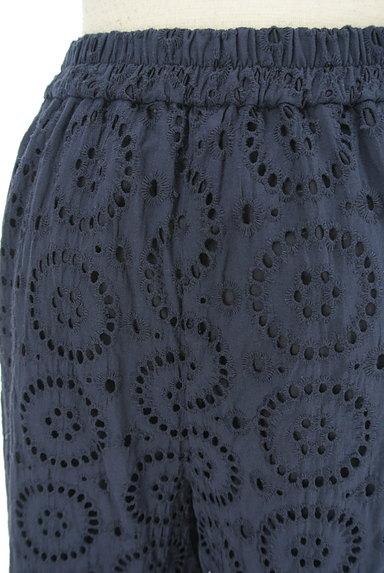 KATHARINE ROSS(キャサリンロス)の古着「カットワーク刺繍のセミワイドパンツ(パンツ)」大画像5へ