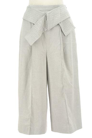KATHARINE ROSS(キャサリンロス)の古着「ウエストリボンガウチョパンツ(パンツ)」大画像1へ