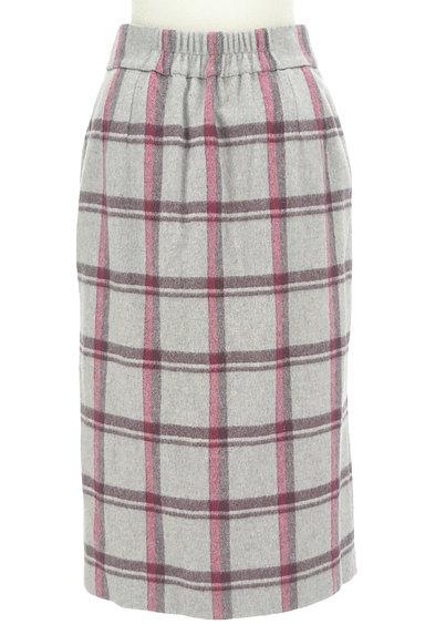 KATHARINE ROSS(キャサリンロス)の古着「ウールチェック柄タイトスカート(ロングスカート・マキシスカート)」大画像2へ
