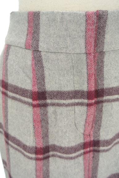 KATHARINE ROSS(キャサリンロス)の古着「ウールチェック柄タイトスカート(ロングスカート・マキシスカート)」大画像4へ