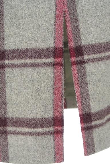KATHARINE ROSS(キャサリンロス)の古着「ウールチェック柄タイトスカート(ロングスカート・マキシスカート)」大画像5へ