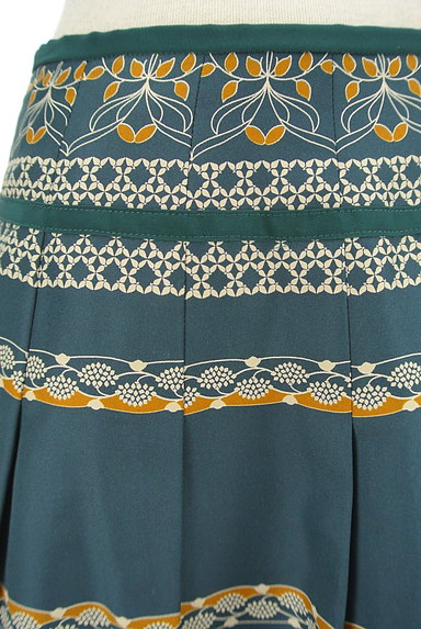 KATHARINE ROSS(キャサリンロス)の古着「レトロ総柄フレアスカート(スカート)」大画像4へ
