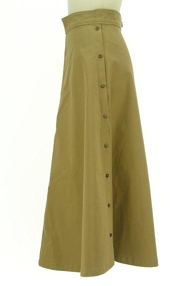 AG by aquagirl(エージーバイアクアガール)の古着「サイドボタンロングフレアスカート(ロングスカート・マキシスカート)」大画像3へ