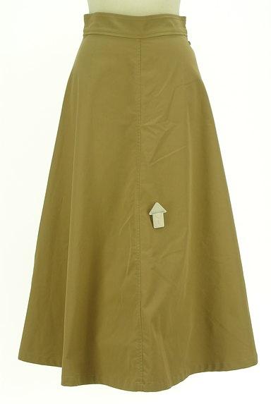 AG by aquagirl(エージーバイアクアガール)の古着「サイドボタンロングフレアスカート(ロングスカート・マキシスカート)」大画像4へ