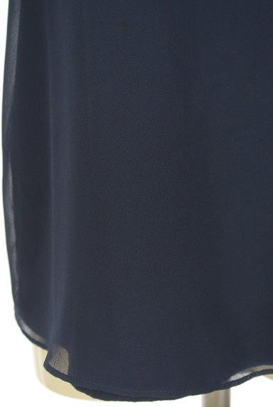 UNTITLED(アンタイトル)の古着「ラメロゴ入りシフォンカットソー(カットソー・プルオーバー)」大画像5へ