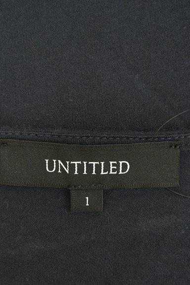 UNTITLED(アンタイトル)の古着「ラメロゴ入りシフォンカットソー(カットソー・プルオーバー)」大画像6へ