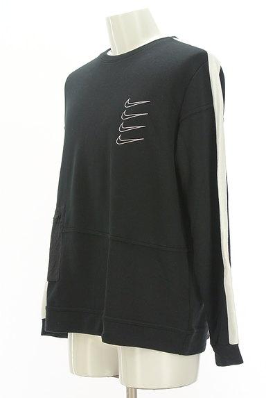 NIKE(ナイキ)の古着「袖ラインブランドロゴカットソー(スウェット・パーカー)」大画像3へ