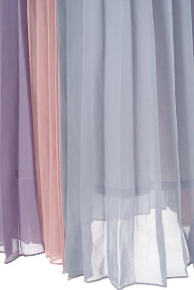 dazzlin(ダズリン)の古着「カラフルプリーツロングスカート(ロングスカート・マキシスカート)」大画像5へ