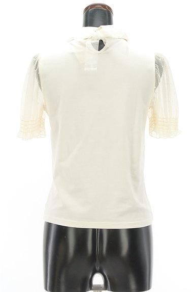 LIZ LISA(リズリサ)の古着「パール付き貝刺繍襟ロゴカットソー(カットソー・プルオーバー)」大画像2へ