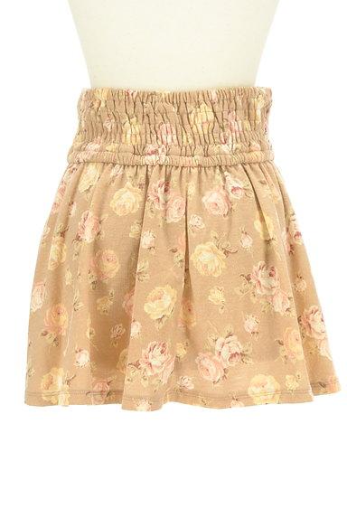 LIZ LISA(リズリサ)の古着「花柄フリルフレアミニスカート(ミニスカート)」大画像2へ