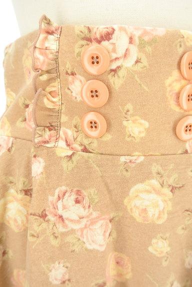 LIZ LISA(リズリサ)の古着「花柄フリルフレアミニスカート(ミニスカート)」大画像4へ