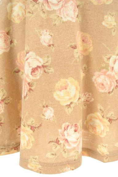 LIZ LISA(リズリサ)の古着「花柄フリルフレアミニスカート(ミニスカート)」大画像5へ