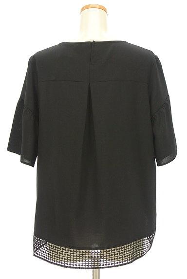 Reflect(リフレクト)の古着「裾レースドロップショルダーカットソー(カットソー・プルオーバー)」大画像2へ