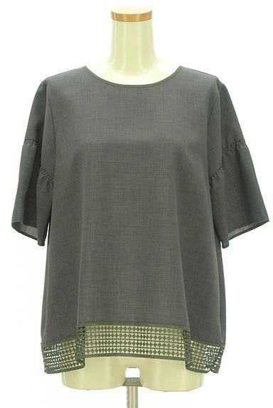 Reflect(リフレクト)の古着「裾レースドロップショルダープルオーバー(カットソー・プルオーバー)」大画像1へ