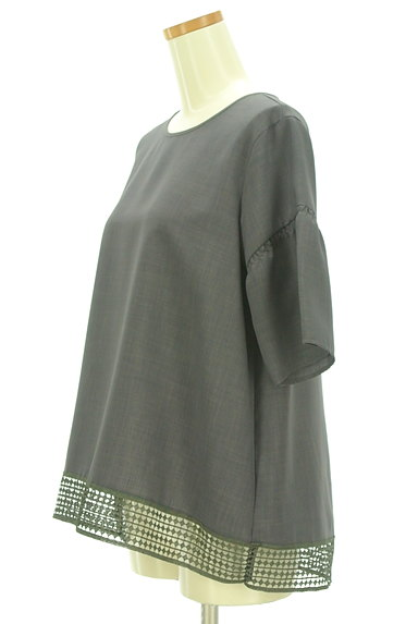 Reflect(リフレクト)の古着「裾レースドロップショルダープルオーバー(カットソー・プルオーバー)」大画像3へ