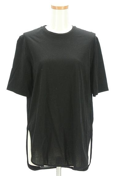 nano・universe(ナノユニバース)の古着「サイドスリットシンプルカットソー(Tシャツ)」大画像1へ