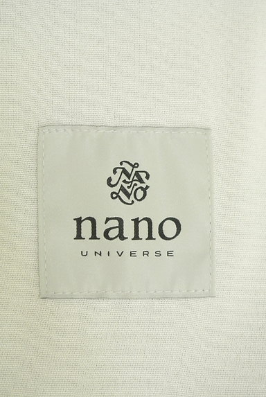 nano・universe(ナノユニバース)の古着「Vネックノーカラーミドル丈ジャケット(ジャケット)」大画像6へ