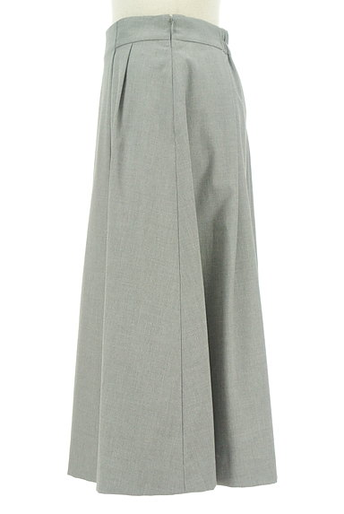 NEW YORKER(ニューヨーカー)の古着「膝下丈シンプルフレアスカート(ロングスカート・マキシスカート)」大画像3へ