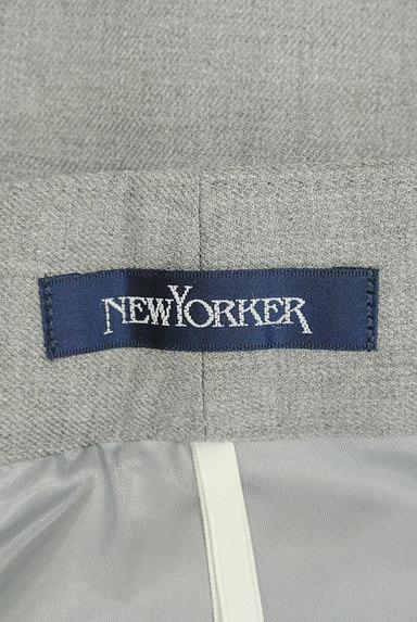 NEW YORKER(ニューヨーカー)の古着「膝下丈シンプルフレアスカート(ロングスカート・マキシスカート)」大画像6へ
