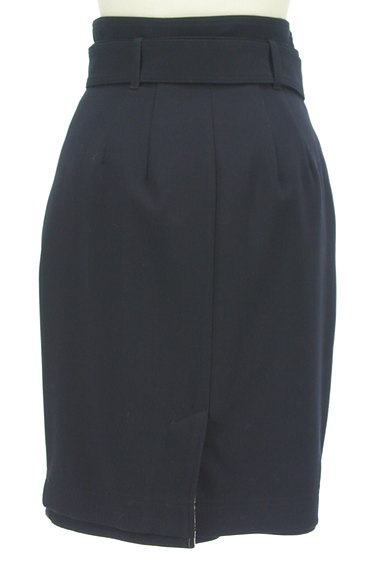 Apuweiser riche(アプワイザーリッシェ)の古着「無地×チェックリバーシブル膝丈スカート(スカート)」大画像2へ