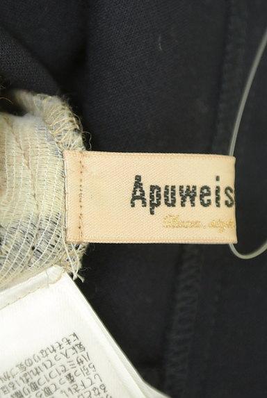 Apuweiser riche(アプワイザーリッシェ)の古着「無地×チェックリバーシブル膝丈スカート(スカート)」大画像6へ