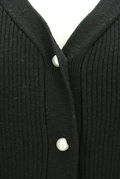 OPAQUE.CLIP(オペークドットクリップ)の古着「パールボタンリブカーディガン(カーディガン・ボレロ)」大画像4へ