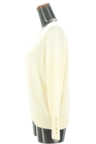 Te chichi(テチチ)の古着「袖口ボタンVネックふんわりニット(ニット)」大画像3へ