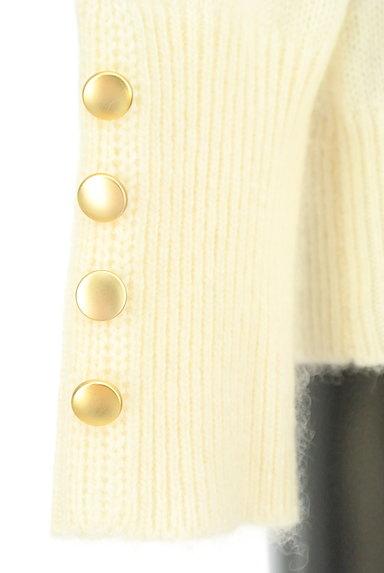 Te chichi(テチチ)の古着「袖口ボタンVネックふんわりニット(ニット)」大画像5へ