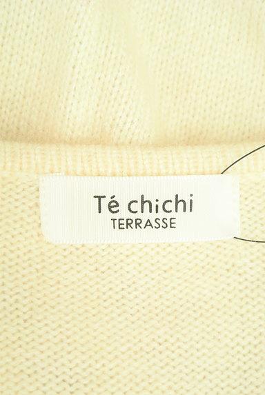 Te chichi(テチチ)の古着「袖口ボタンVネックふんわりニット(ニット)」大画像6へ