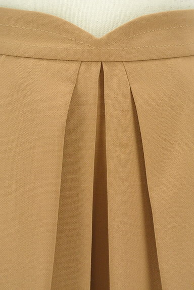 Apuweiser riche(アプワイザーリッシェ)の古着「膝上丈タックフレアスカート(ミニスカート)」大画像4へ