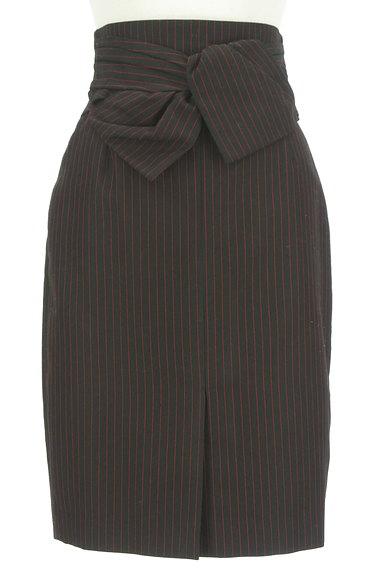 JUSGLITTY(ジャスグリッティー)の古着「リボン付ハイウエスト膝丈タイトスカート(スカート)」大画像1へ
