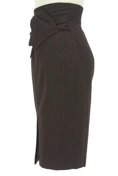 JUSGLITTY(ジャスグリッティー)の古着「リボン付ハイウエスト膝丈タイトスカート(スカート)」大画像3へ
