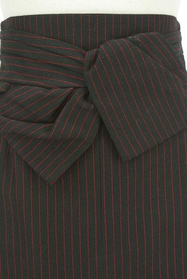 JUSGLITTY(ジャスグリッティー)の古着「リボン付ハイウエスト膝丈タイトスカート(スカート)」大画像4へ