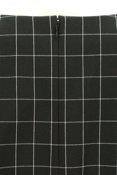 UNTITLED(アンタイトル)の古着「グラフチェック柄裾タックカットソー(カットソー・プルオーバー)」大画像4へ