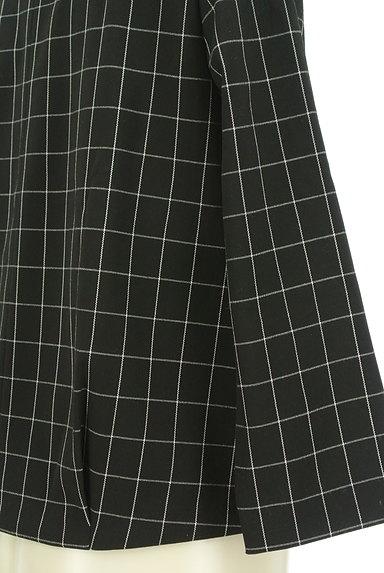 UNTITLED(アンタイトル)の古着「グラフチェック柄裾タックカットソー(カットソー・プルオーバー)」大画像5へ