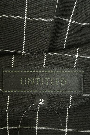UNTITLED(アンタイトル)の古着「グラフチェック柄裾タックカットソー(カットソー・プルオーバー)」大画像6へ