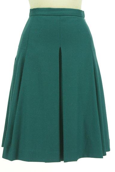 ru(アールユー)の古着「ミディ丈タックフレア起毛スカート(スカート)」大画像1へ